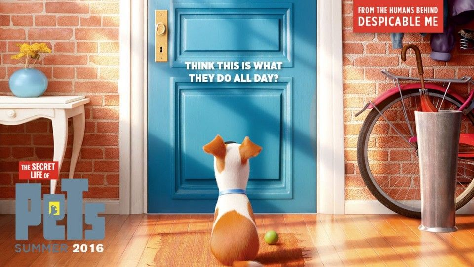 When You Re Away The Pets Will Play The Secret Life Of Pets Stars Louis C K Kevin Hart Watch The First Traile Secret Life Of Pets Pets Movie Secret Life