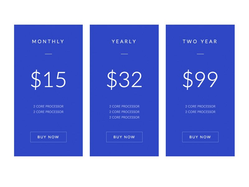 13 best Pricing images on Pinterest Pricing table, Website - price chart template