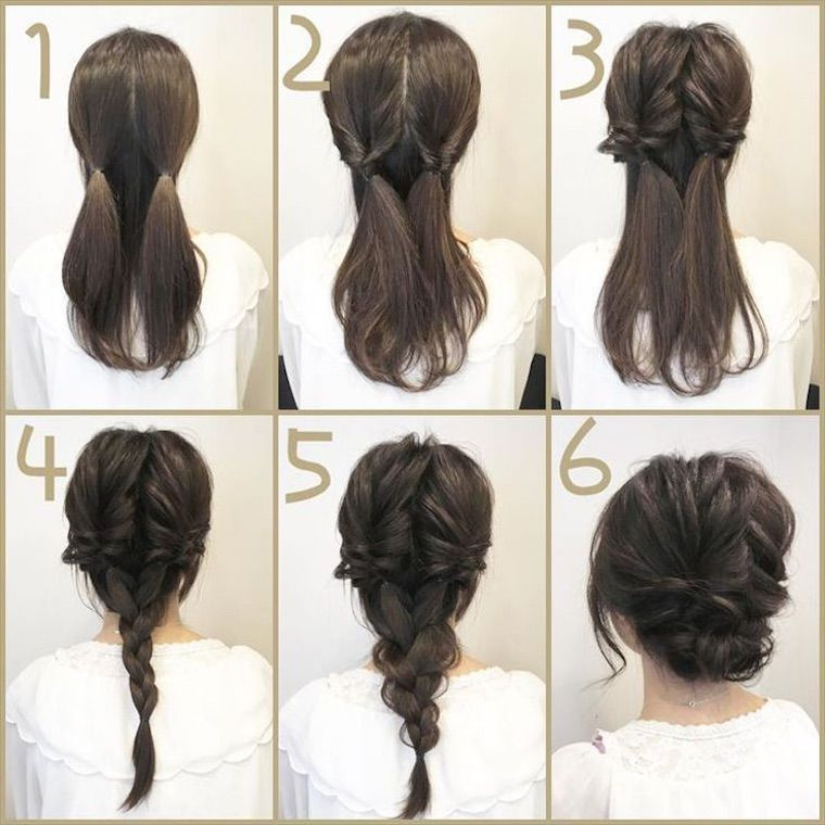 20 Diy Easy Updos For Your Medium Hairstyle Do It Yourself Page 13 Chic Cuties Blog Diy Wedding Hair Hair Styles Up Dos For Medium Hair