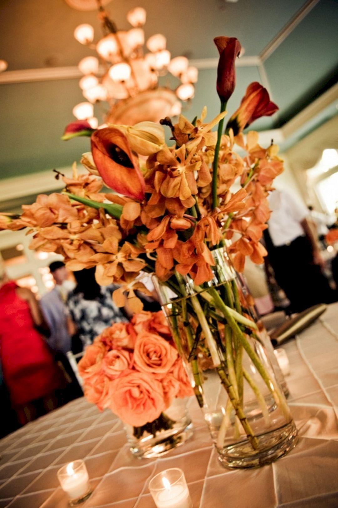 Wedding decoration ideas centerpieces   Incredible Centerpieces Ideas for Fall Weddings  Centerpieces