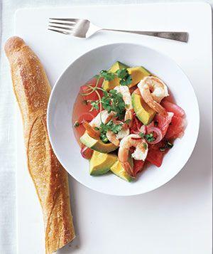 No-Cook Meal: Summer Shrimp Salad