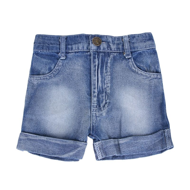 Trendy Turnup Denim Shorts for Toddler Boy and Boy