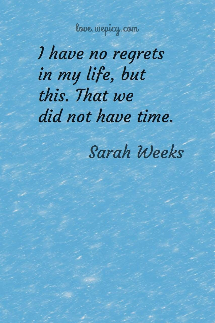 25 Quotes Of Sarah Weeks About Love