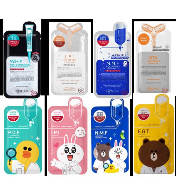 Mediheal Sheet Masks Choose Your Fav Korean Sheet