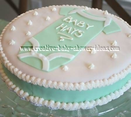 Easy baby shower cake ideas