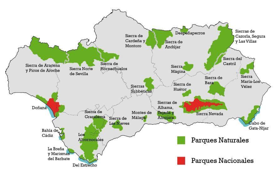 Parques Naturales Y Nacionales En Andalucia Con Imagenes