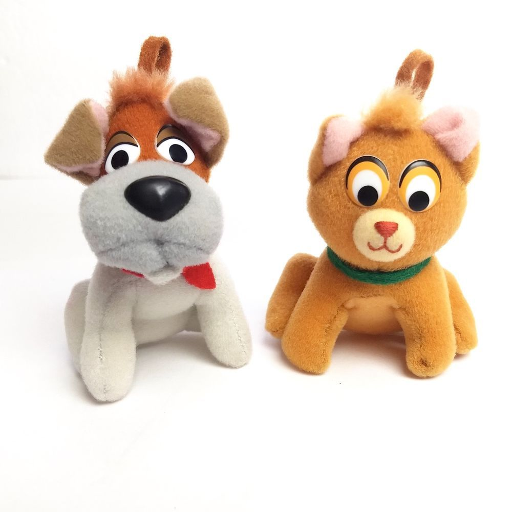 Vtg McDonalds 1988 Disney Oliver & Company Dodger Dog Fagin ...