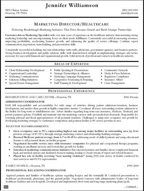 Resume Templates 2015 Admissions Coordinator Simple