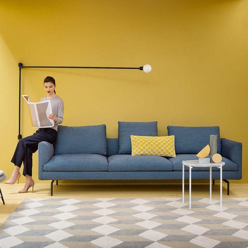 Canape Flamingo 3 Places Zanotta Idee Deco Salon Deco Salon Et Coussin Assise