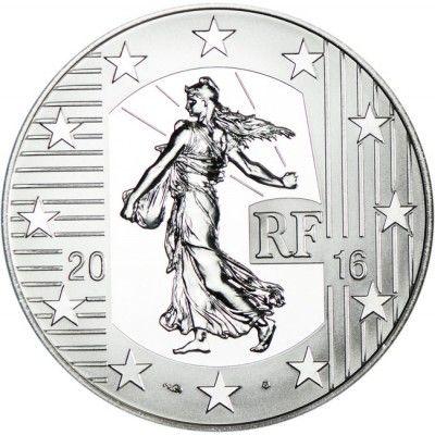 10 EURO SILBER SÄERIN 2016: DER TESTONE PP