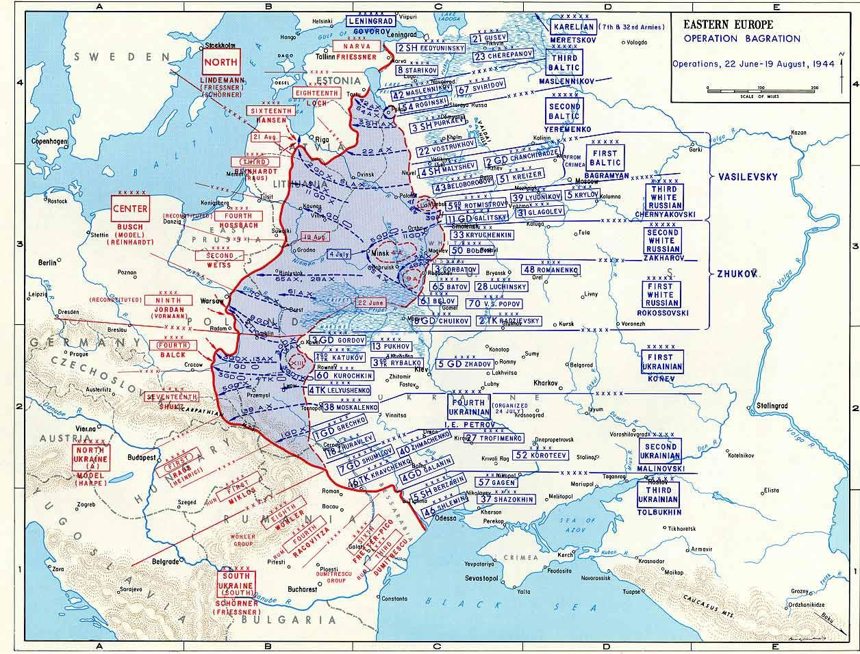 Map map depicting operation bagration 22 jun 19 aug 1944 categorymaps of the eastern front in world war ii gumiabroncs Choice Image