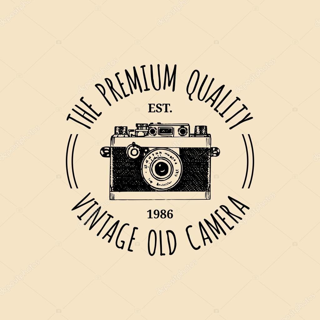 Depositphotos 87209162 Stock Illustration Photography Logo Vintage Camera Jpg 1024 1024 Camera Logos Design Camera Logo Photography Logos