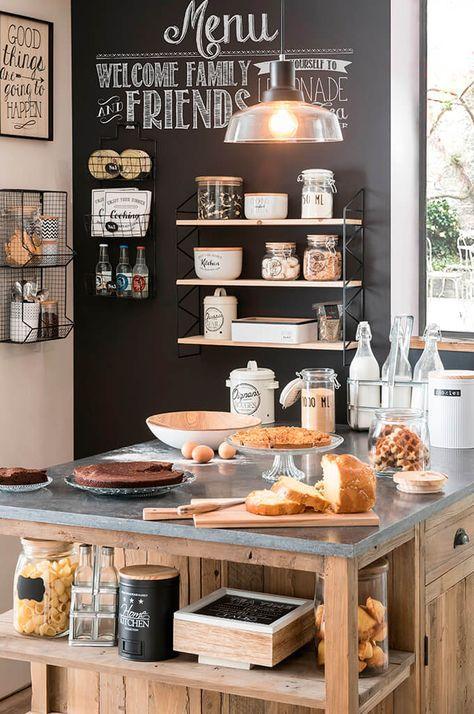 esprit bistrot pour la cuisine voici 20 id es pour vous inspirer basement remolding. Black Bedroom Furniture Sets. Home Design Ideas