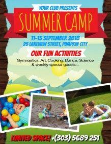 Summer Camp Flyer  Passport To ReadingBulletin Board