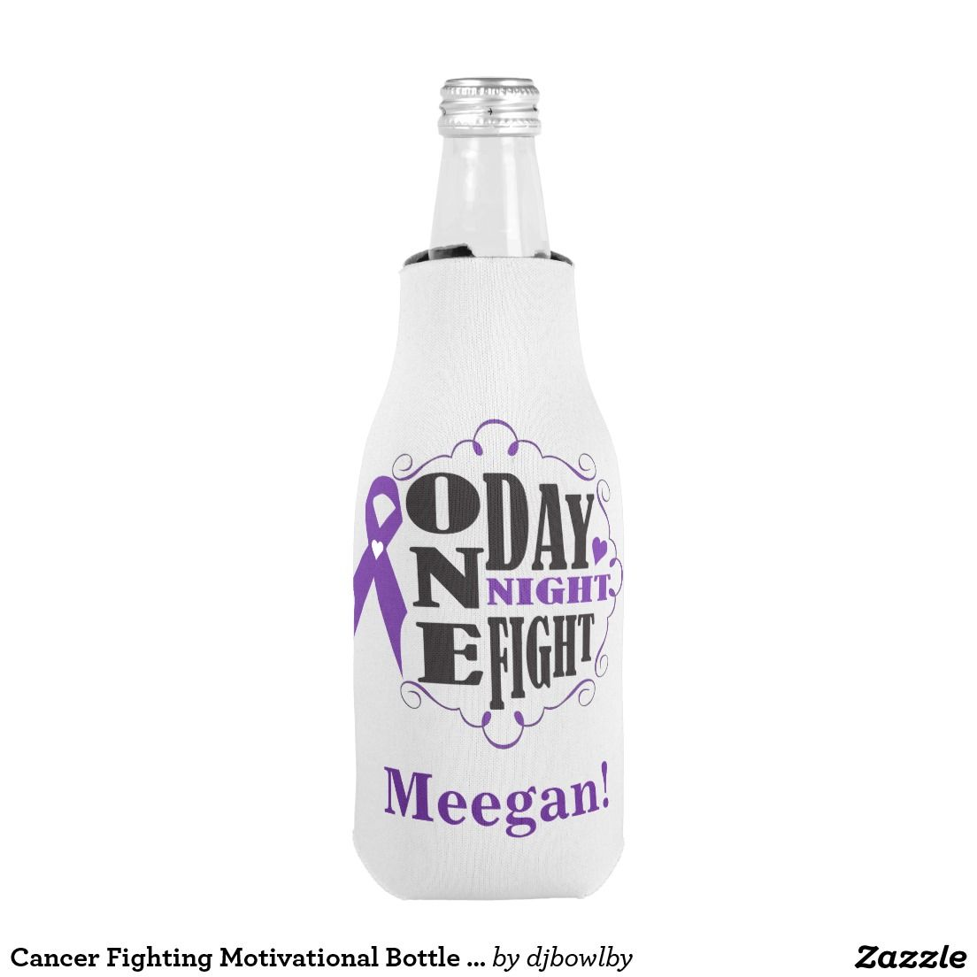 Relay for Life Style Bottle Coozie Bottle Add your name  Things