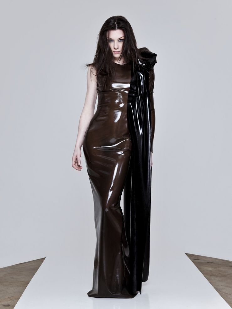 Patterns for leather fetish clothing