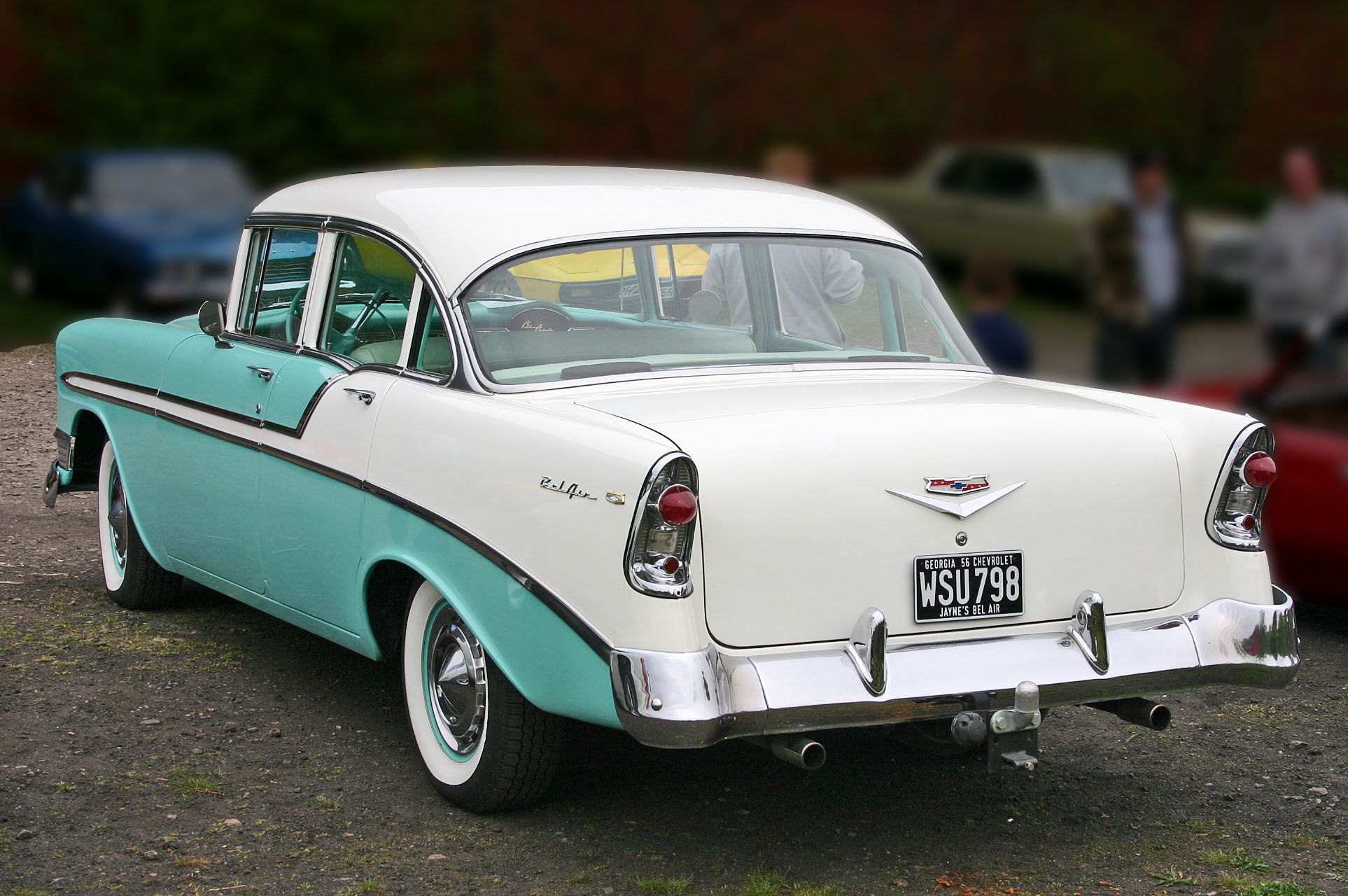 My first car was a 1956 Chevy sedan (not a Bel Aire, though I\'m not ...