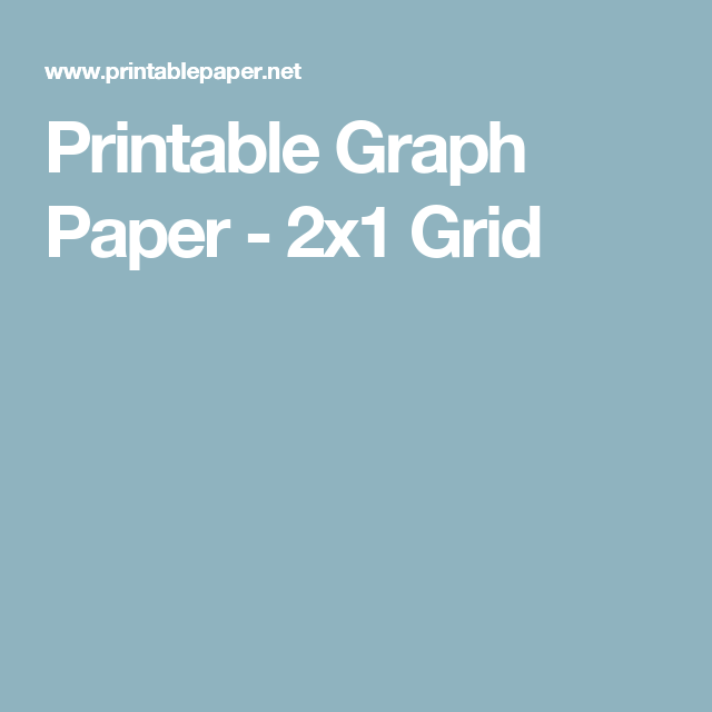 printable graph paper 2x1 grid me pinterest graph paper and
