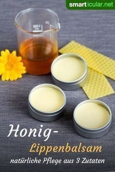 Heilsamen Honig-Lippenbalsam einfach selber machen