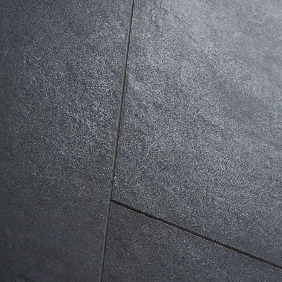 Fordham Nero 12x24 Matte Porcelain Tile In 2020 Porcelain Tile Grey Floor Tiles Porcelain