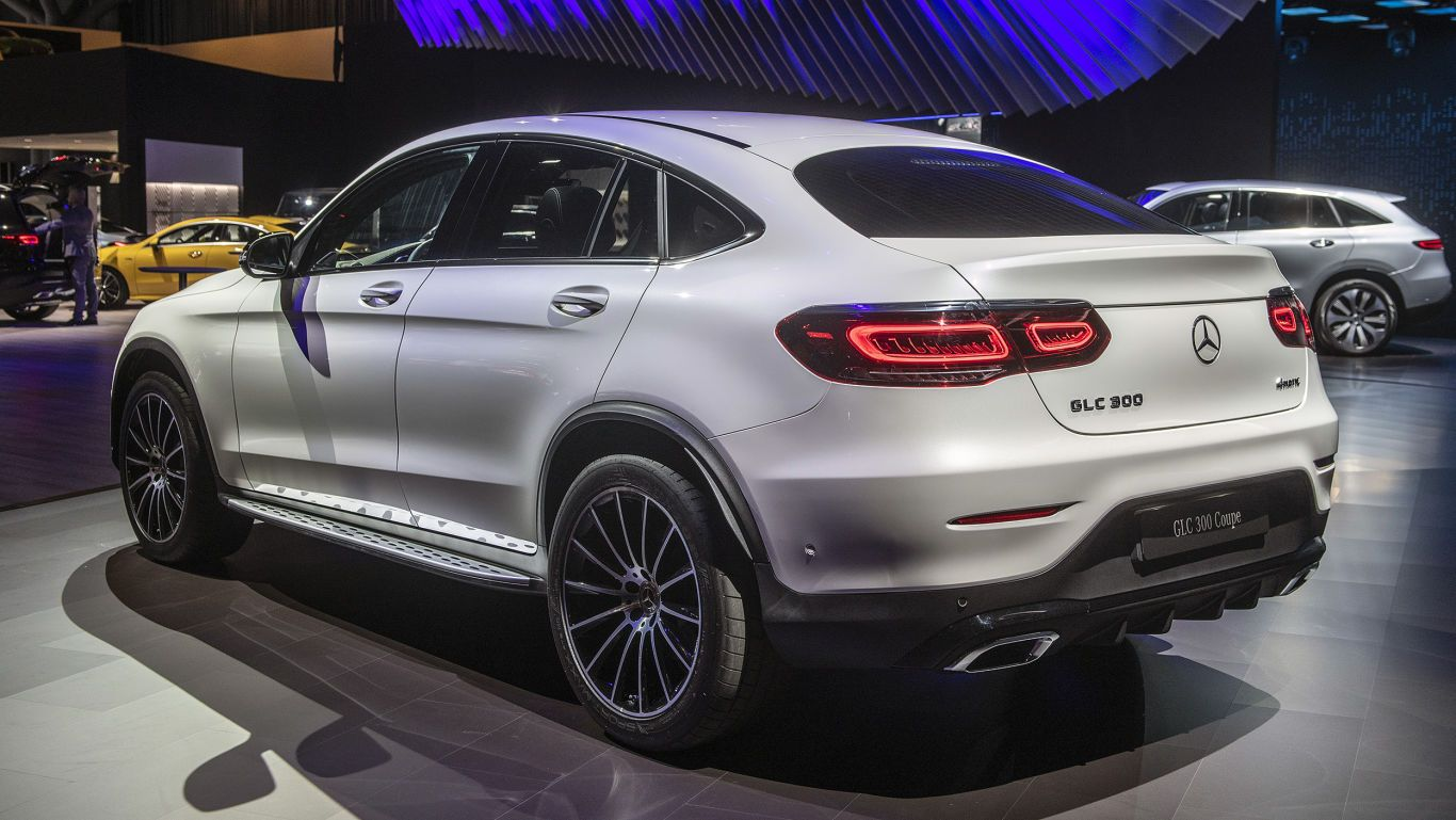 2020 Mercedes Benz Glc Class Coupe Gets Light Update With Images