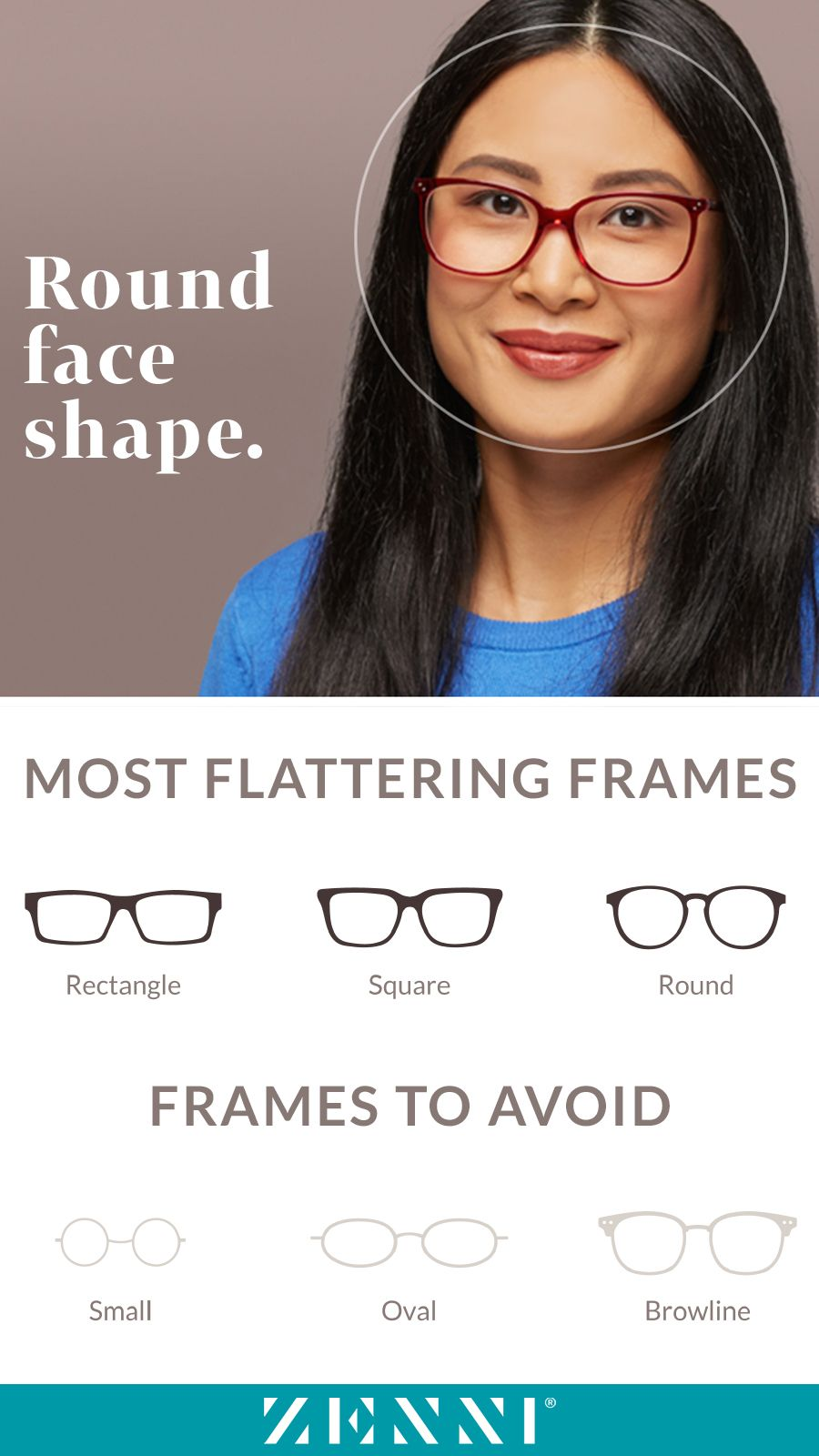 295dd79aa5d Find the most flattering frames for all face shapes! Which shape are you