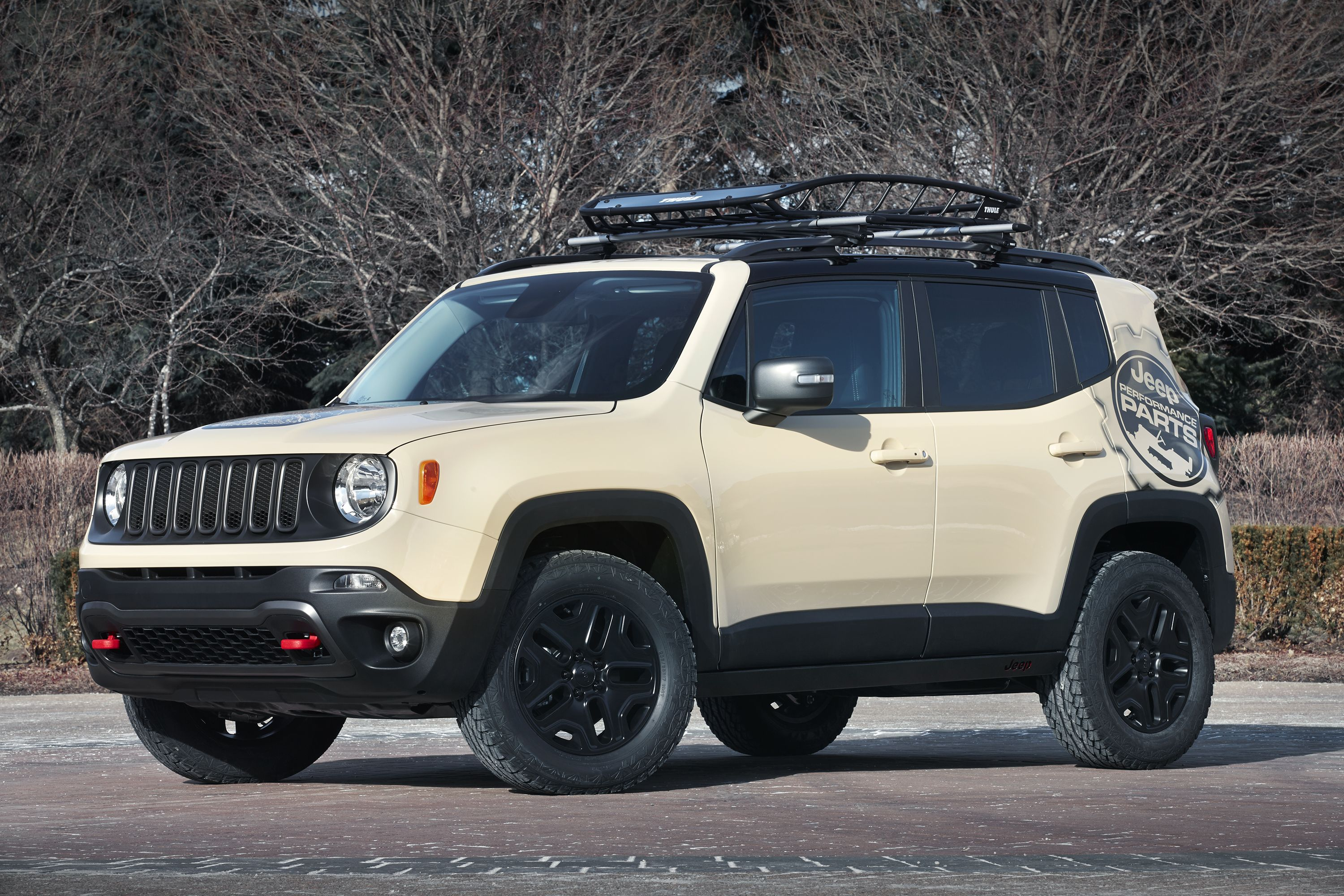 Jeep Renegade Desert Hawk Is Based On The Newest Suv Was Built For Ultimate Adventure And Equipped