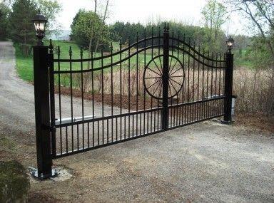 Amusing Wrought Iron Ranch Entrance Gates And Wrought Iron Entrance Gates For A Farm Driveway Gate Wrought Iron Driveway Gates Farm Gate Entrance