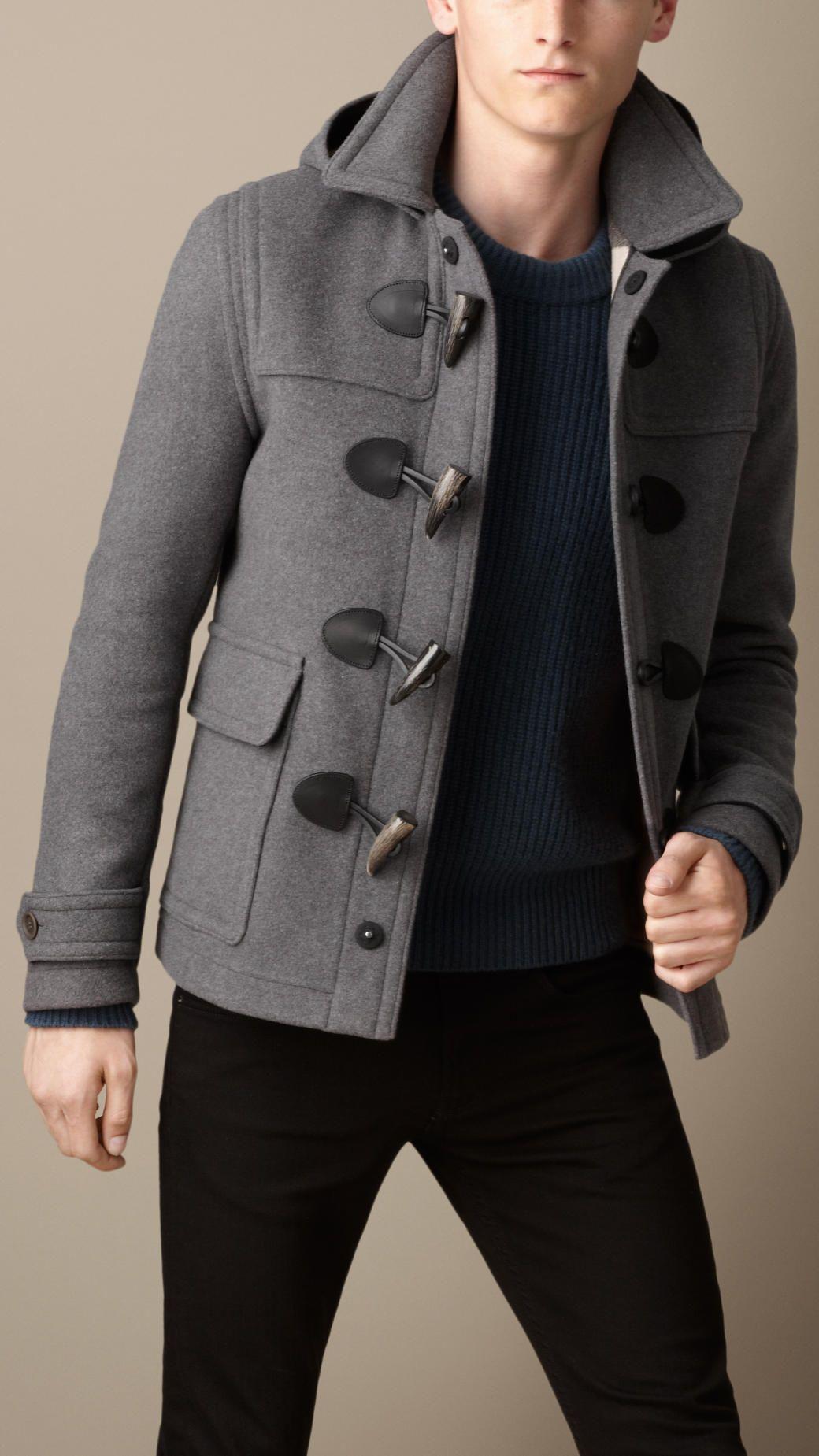 82e7bccf25484 Wool Duffle Jacket