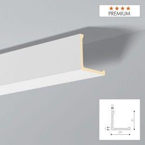Moulure F20 Polyurethane Decoflair Hauteur 100 Mm X Largeur 100 Mm Pack 1 X 2 M Qualite Premium Sockelleisten Stuckleisten Decke
