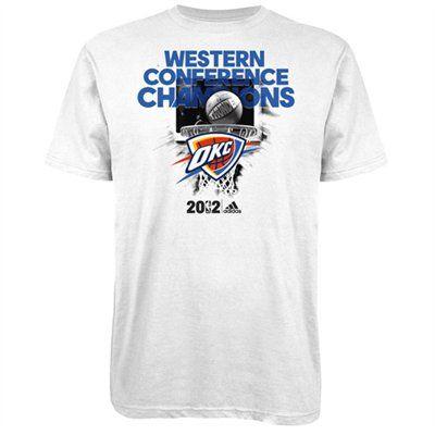 best website 4ecec d336b OKC Thunder 2012 NBA Western Conference Champions Final ...