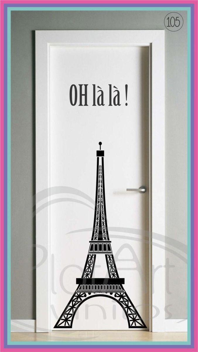Vinilos decorativos puertas heladeras ventanas stikers 250 00 en mercadolibre furniture Puertas de madera decoradas