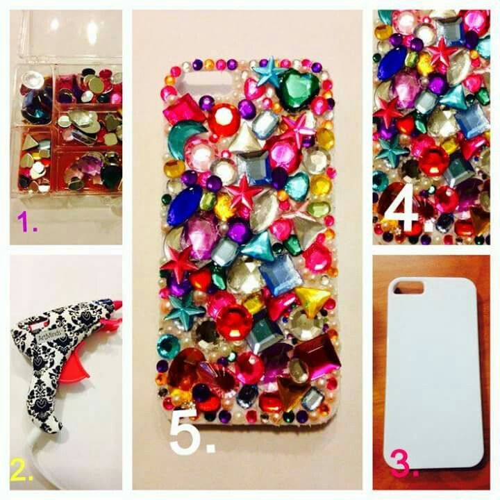 Ideas para decorar tu celular caratulas pinterest - Decorar funda movil ...