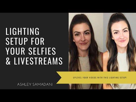 1 Lighting Setup For Live Video Faceook Instagram Tiktok Youtube Lighting Setups Building A Personal Brand Social Marketing Business