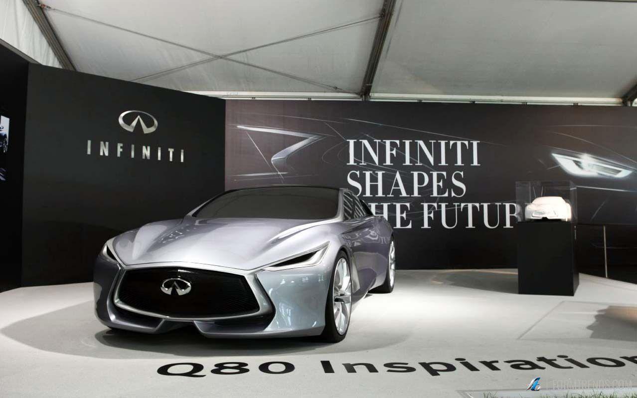 인피니티 쇼케이스 디자인 기풍 속도의 2015 굿 우드 페스티벌 |  양식 동향