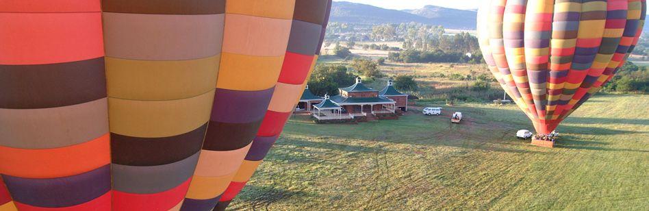 Hot air balloon safari - South Africa