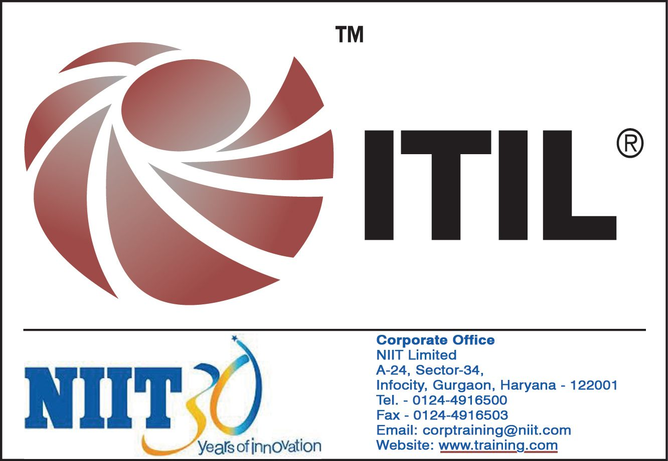 Niit offers itil certification training on itil foundation itil niit offers itil certification training on itil foundation itil provides the foundation for quality it 1betcityfo Gallery