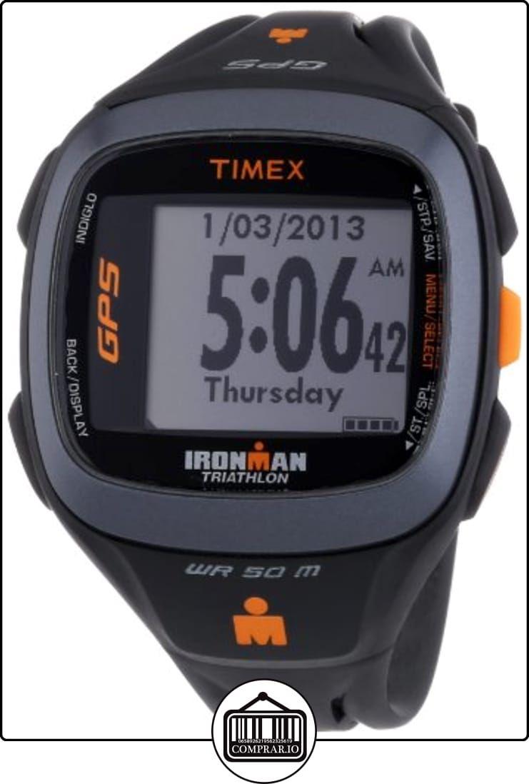 a7155a1def15 Timex Timex Ironman Run Trainer 2.0 GPS HRM T5K742 - Reloj digital de  cuarzo unisex