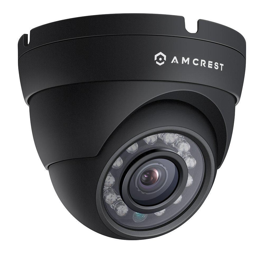 Amcrest ProHD Outdoor 1080p POE Dome IP Security Camera IP67 Weatherproof (1920 TVL) IP2M-844E, Black