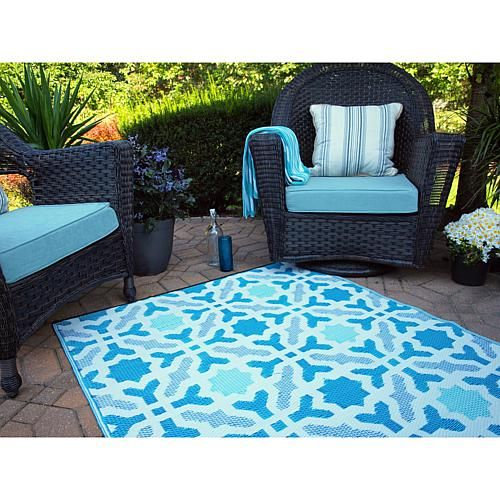 Fab Habitat 4 X 6 Seville Rug Blue And Multicolor Products
