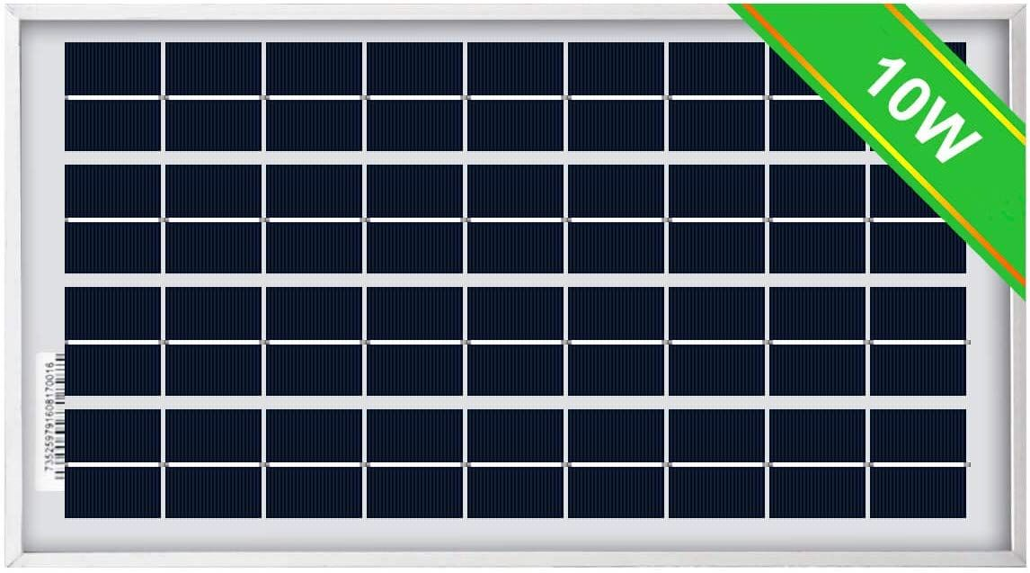 Eco Worthy 10w Solar Panel 10 Watt 12 Volt Pv Solar Module Solar Cell Panel Review Solar Module Solar Solar Panels