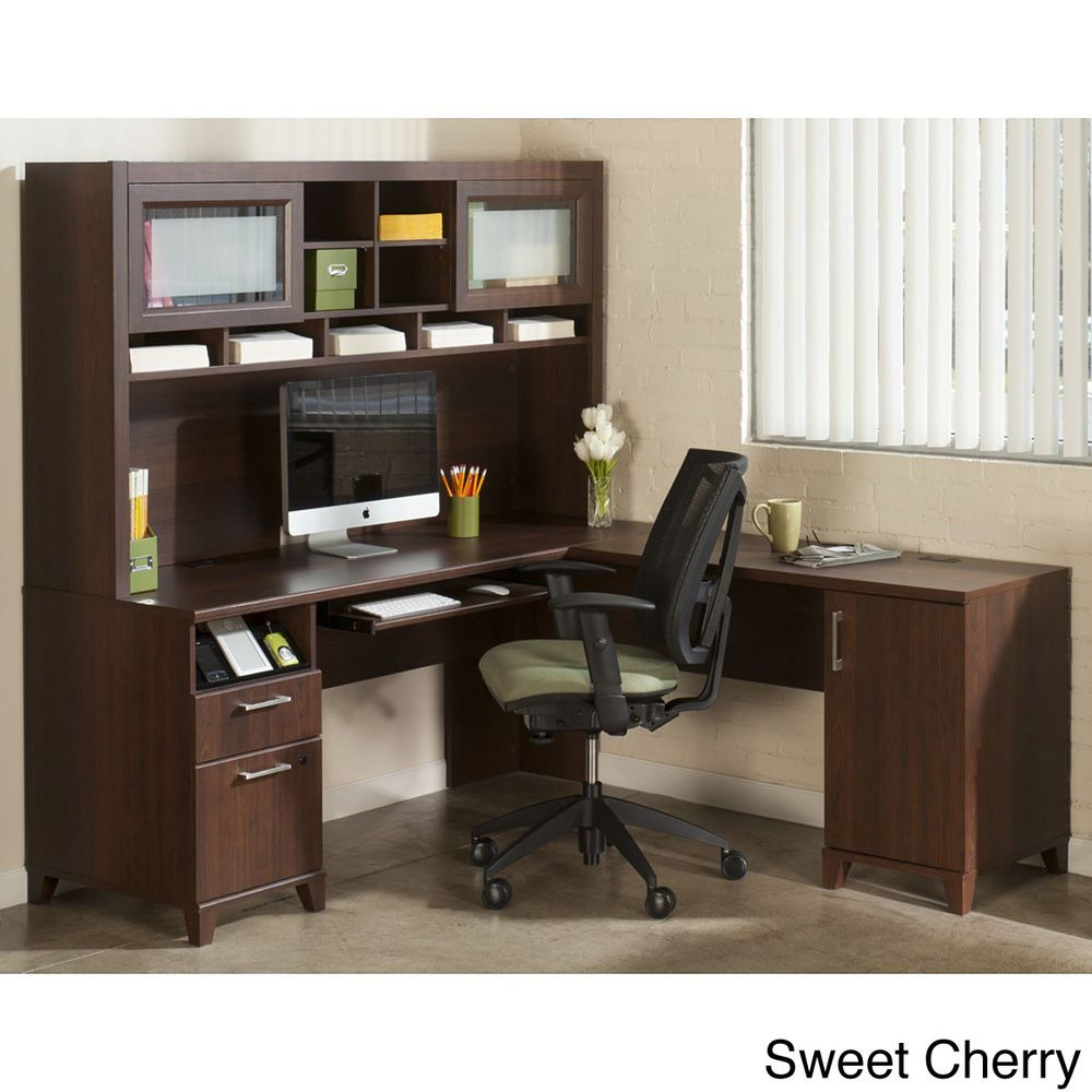 Nice Achieve L Shaped Desk With Hutch By Bush Furniture