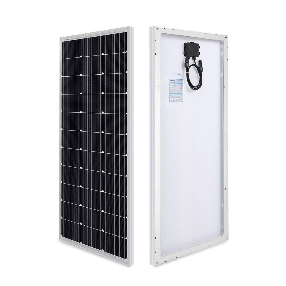 Renogy 100 Watt 12 Volt Monocrystalline Solar Panel Compact Design Price 57 49 Monocrystalline Solar Panels Best Solar Panels Solar Panels