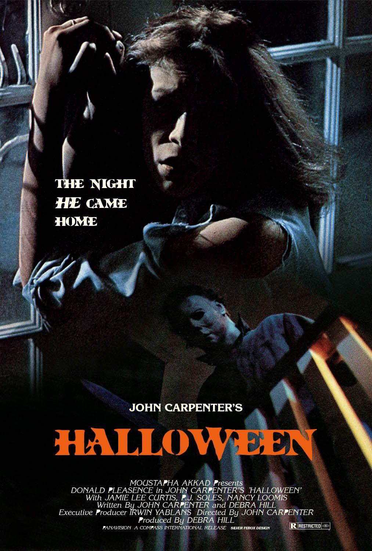 Halloween (1978) fan poster Halloween film, Halloween