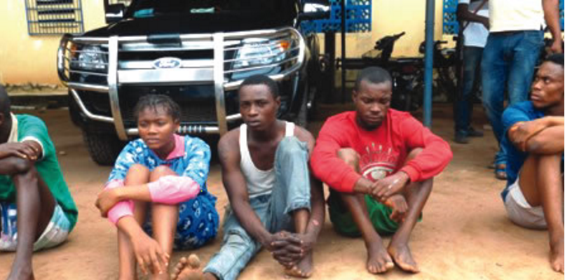 Police nab 19-year-old girl, driver in Imo state for kidnapping and