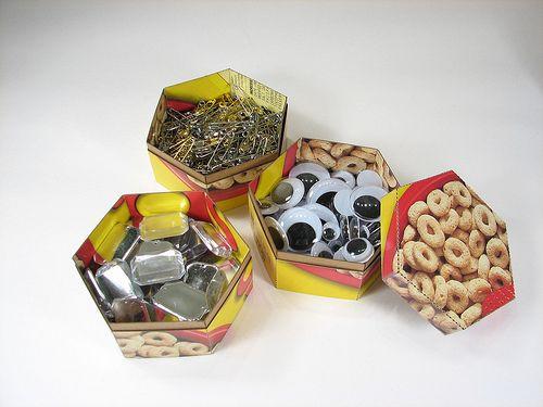 Stacking hexagonal boxes tutorial
