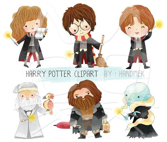 Harry Potter Clipart Instant Download Png File 300 Dpi Ot Handmek Harry Potter Clip Art Harry Potter Scrapbook Harry Potter Classroom