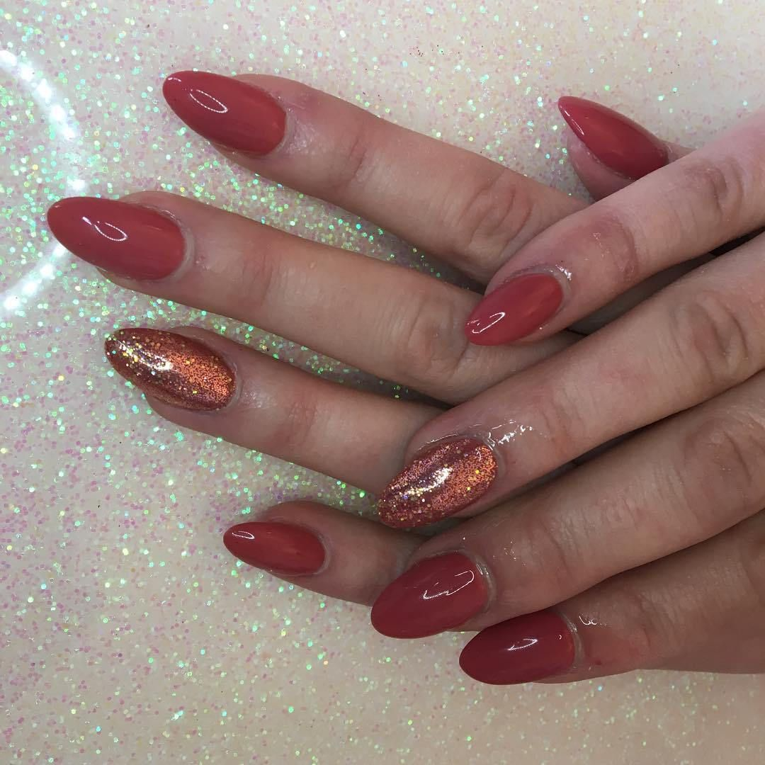 55 wear the spirit of christmas with these joyful christmas nail