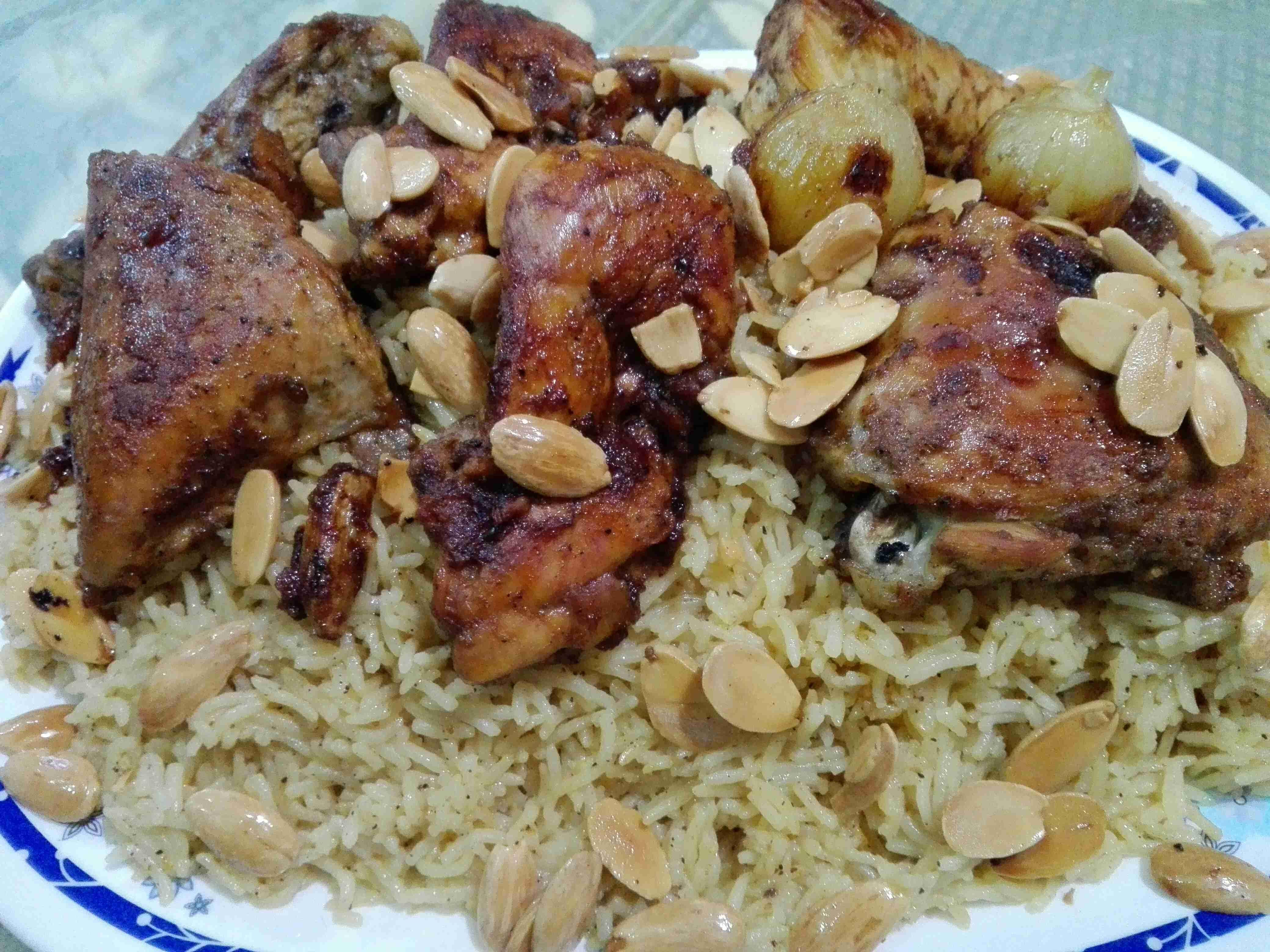 طريقة عمل الارز المكرمل مع الدجاج المشوي سلسة وصفاتي المشكله 8 زاكي Main Dishes Cooking Food