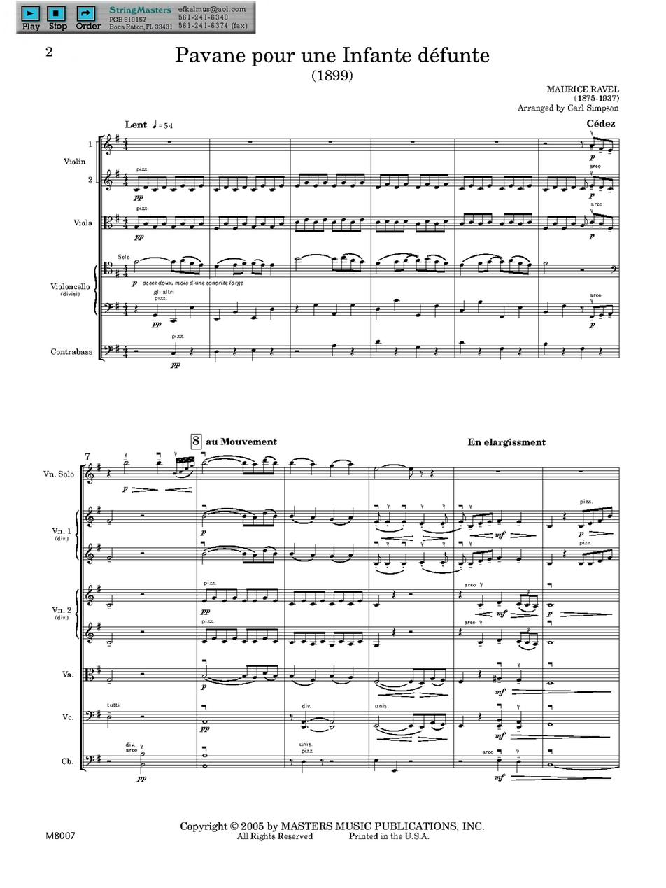 Pavane pour une infante défunte (Ravel, Maurice) - IMSLP